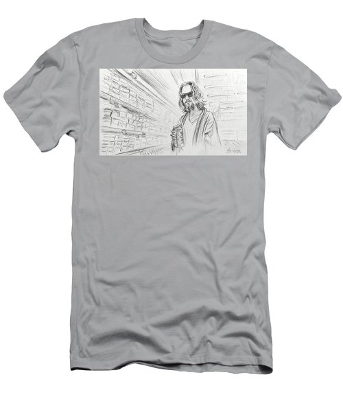 The Dude Abides Men's T-Shirt (Athletic Fit)