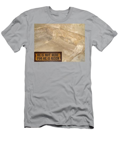 The Empty Tomb Men's T-Shirt (Athletic Fit)