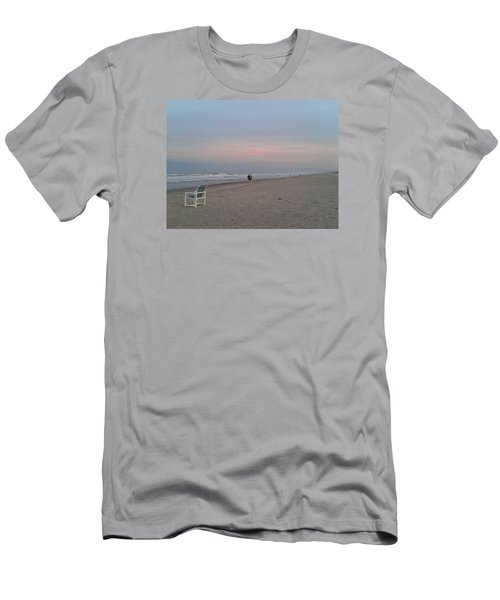 The End Of The Day Men's T-Shirt (Slim Fit) by Veronica Rickard