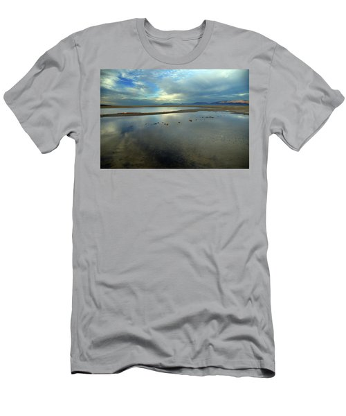 The Evaporating Water Of The Great Salt Lake 2 Men's T-Shirt (Athletic Fit)