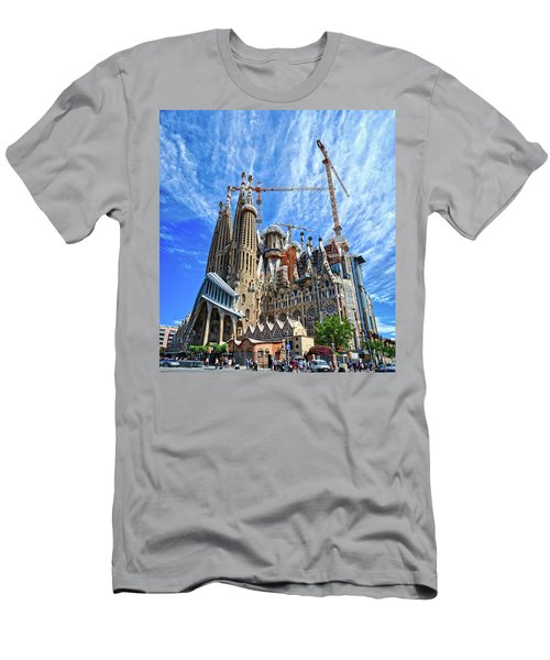 The Expiatory Temple Of The Holy Family Men's T-Shirt (Athletic Fit)