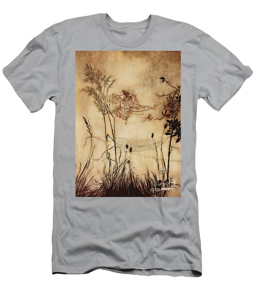 The Fairy's Tightrope From Peter Pan In Kensington Gardens Men's T-Shirt (Athletic Fit)
