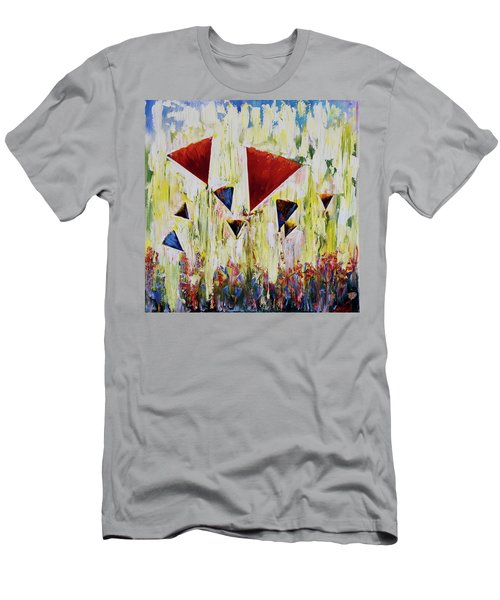 The Flower Party Men's T-Shirt (Athletic Fit)