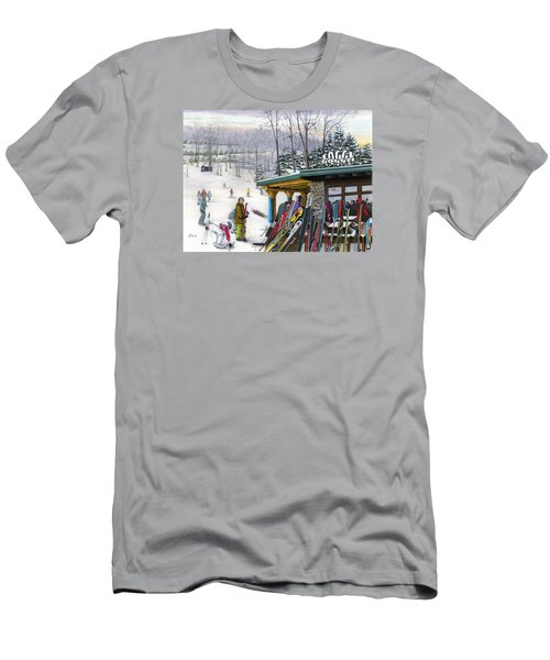 The Foggy Goggle At Seven Springs Men's T-Shirt (Athletic Fit)