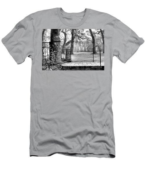 The Gates Of The Old Sheldon Church Men's T-Shirt (Athletic Fit)