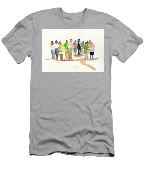 The Gathering Men's T-Shirt (Slim Fit) by P Anthony Visco