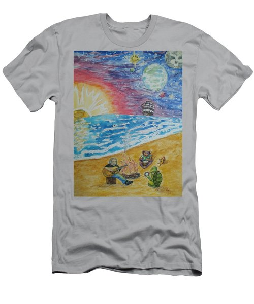 The Gathering Men's T-Shirt (Slim Fit) by Thomasina Durkay