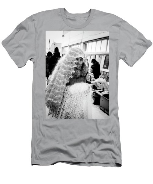 Men's T-Shirt (Athletic Fit) featuring the photograph The Ghost by John Williams