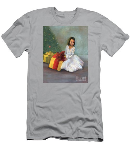 Men's T-Shirt (Athletic Fit) featuring the painting The Gift by Marlene Book
