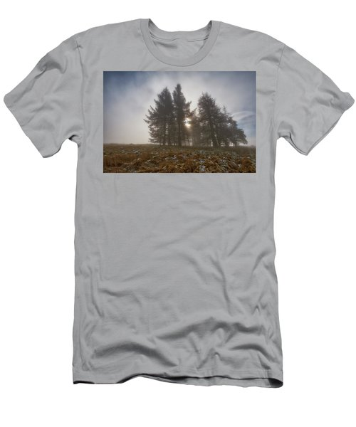 Men's T-Shirt (Athletic Fit) featuring the photograph The Gloomy Sunrise by Jeremy Lavender Photography