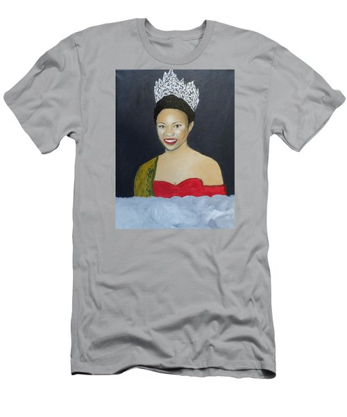 The Golden Queen  Men's T-Shirt (Slim Fit) by Angelo Thomas