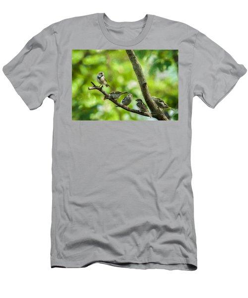The Gossip Branch Men's T-Shirt (Athletic Fit)