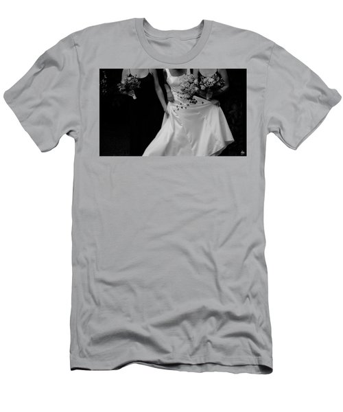 Men's T-Shirt (Athletic Fit) featuring the photograph The Gown by Wayne King