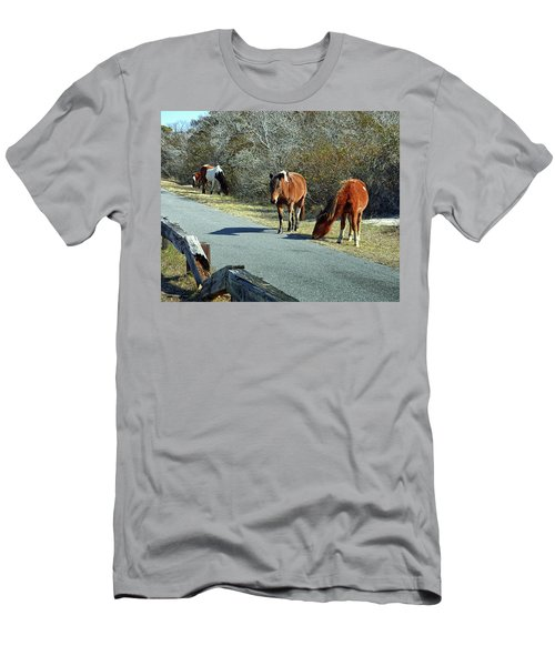 The Grass Is Always Greener Men's T-Shirt (Athletic Fit)