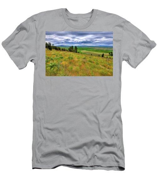 The Grasses Of Kamiak Butte Men's T-Shirt (Athletic Fit)