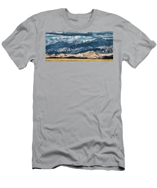 The Great Sand Dunes Panorama Men's T-Shirt (Athletic Fit)