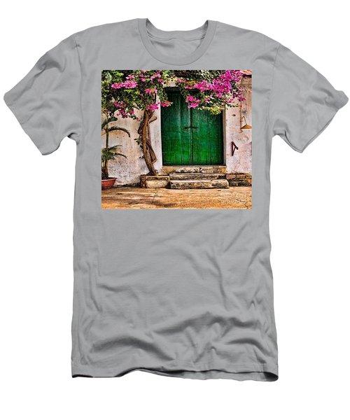 The Green Door Men's T-Shirt (Athletic Fit)