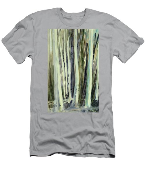 Men's T-Shirt (Athletic Fit) featuring the painting The Grove by Andrew King