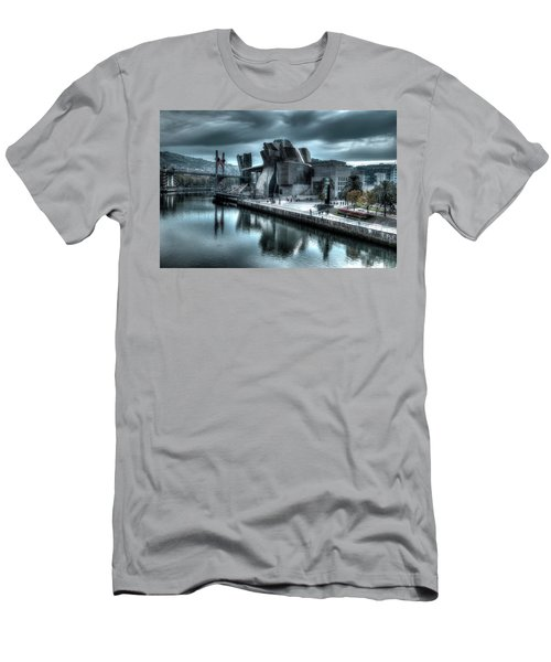 The Guggenheim Museum Bilbao Surreal Men's T-Shirt (Athletic Fit)
