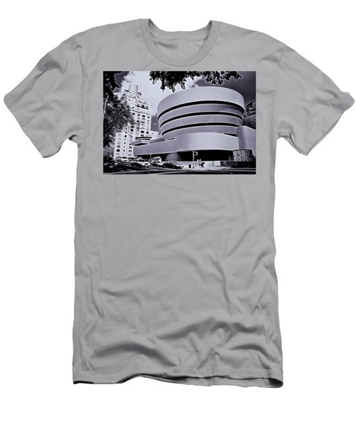 The Guggenheim Black And White Men's T-Shirt (Athletic Fit)
