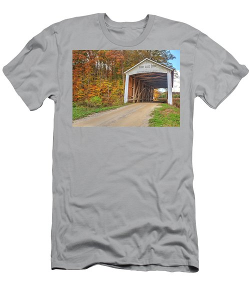 The Harry Evans Covered Bridge Men's T-Shirt (Athletic Fit)