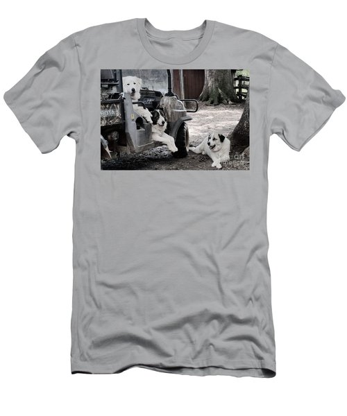 The Helpers Men's T-Shirt (Athletic Fit)