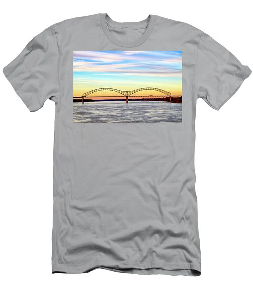 The Hernando De Soto Bridge Men's T-Shirt (Athletic Fit)