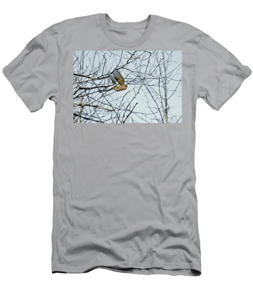 The House Finch In-flight Men's T-Shirt (Athletic Fit)