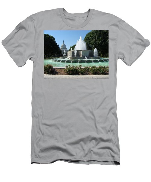The House Of Democracy Men's T-Shirt (Slim Fit) by Rod Jellison