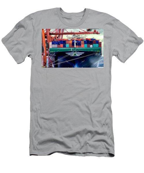 Men's T-Shirt (Slim Fit) featuring the photograph The Hyundai Faith Seattle Washington by Michael Rogers
