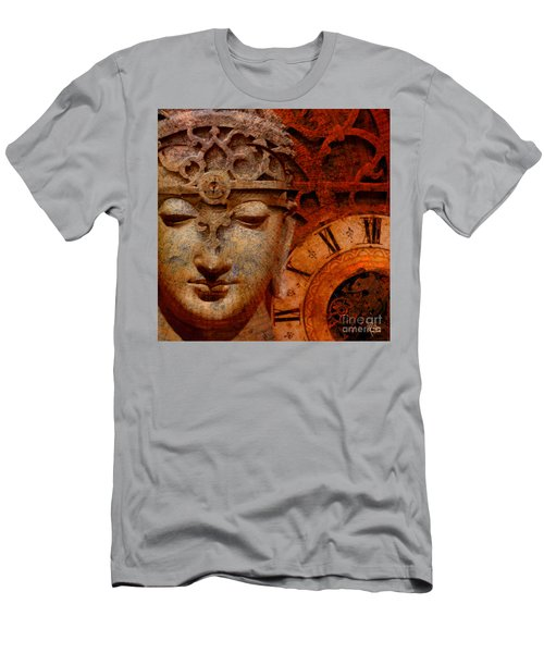 The Illusion Of Time Men's T-Shirt (Slim Fit) by Christopher Beikmann