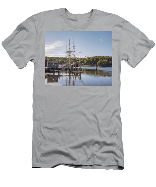 The Joseph Conrad Mystic Seaport Men's T-Shirt (Athletic Fit)