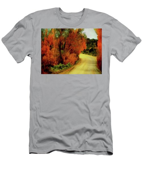 The Journey Home Men's T-Shirt (Slim Fit) by Lenore Senior