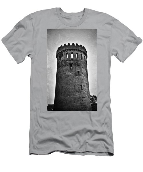 The Keep At Nenagh Castle In Nenagh Ireland Men's T-Shirt (Athletic Fit)