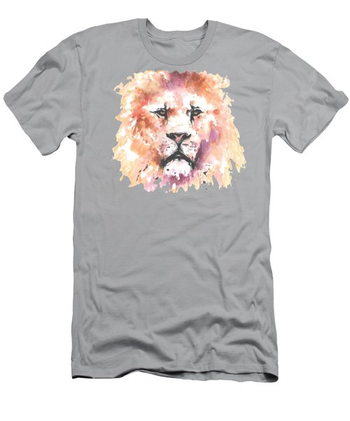The King T-shirt Men's T-Shirt (Slim Fit) by Herb Strobino