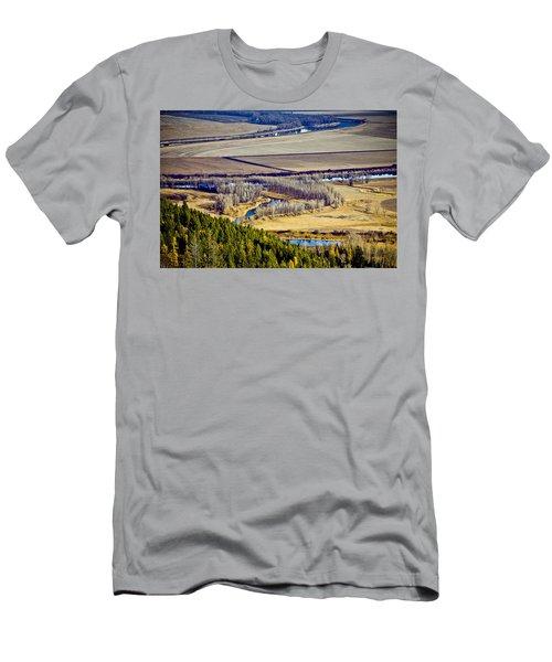 The Kootenai Valley Men's T-Shirt (Athletic Fit)