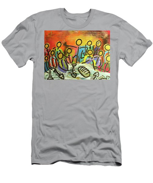 The Last Supper Recitation Men's T-Shirt (Athletic Fit)