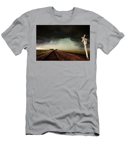 The Last Train To Darksville Men's T-Shirt (Athletic Fit)