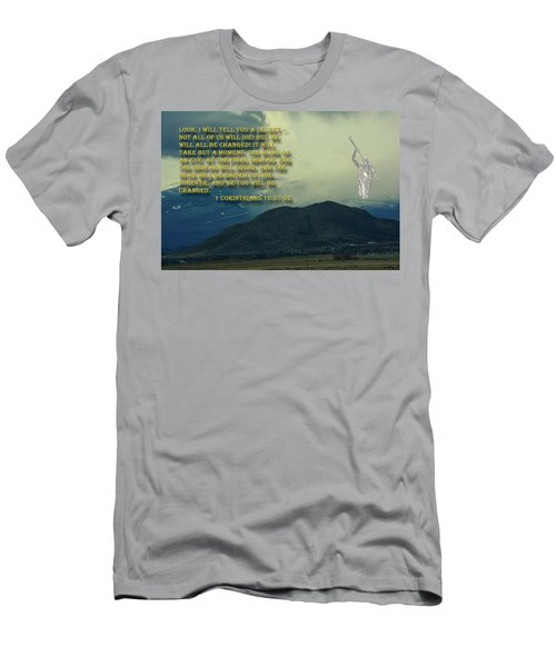 Men's T-Shirt (Athletic Fit) featuring the photograph The Last Trump by Tikvah's Hope