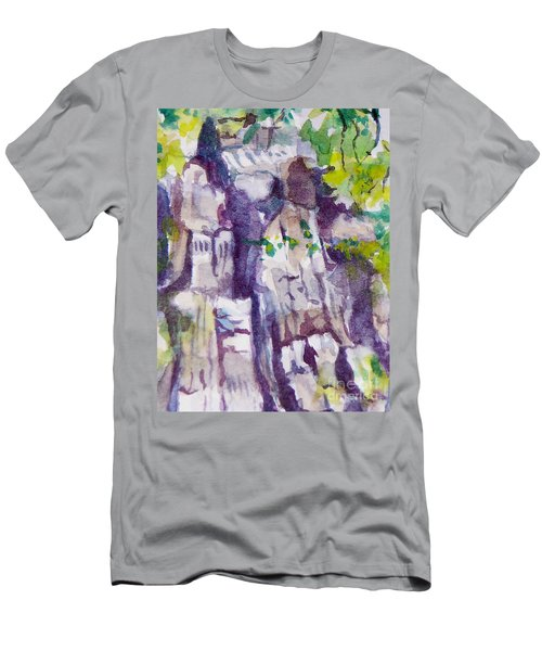 The Little Climbing Wall Men's T-Shirt (Athletic Fit)