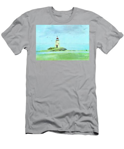 The Little Lighthouse That Could Men's T-Shirt (Athletic Fit)