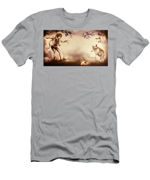 The Little Prince And The Fox Men's T-Shirt (Athletic Fit)