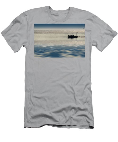The Lobster Boat Men's T-Shirt (Athletic Fit)