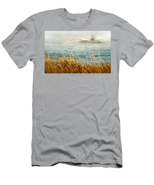 The Lone Rower Men's T-Shirt (Athletic Fit)