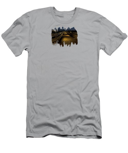 The Long Boardwalk Men's T-Shirt (Athletic Fit)