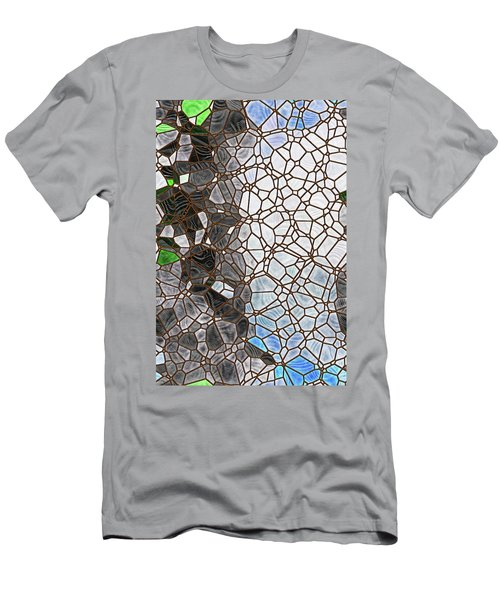 Men's T-Shirt (Athletic Fit) featuring the digital art The Lovely Spider by Wendy J St Christopher