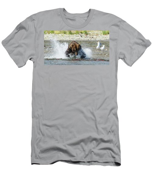 The Lunge Men's T-Shirt (Athletic Fit)