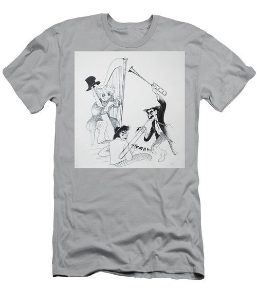 The Marx Brothers O Men's T-Shirt (Athletic Fit)