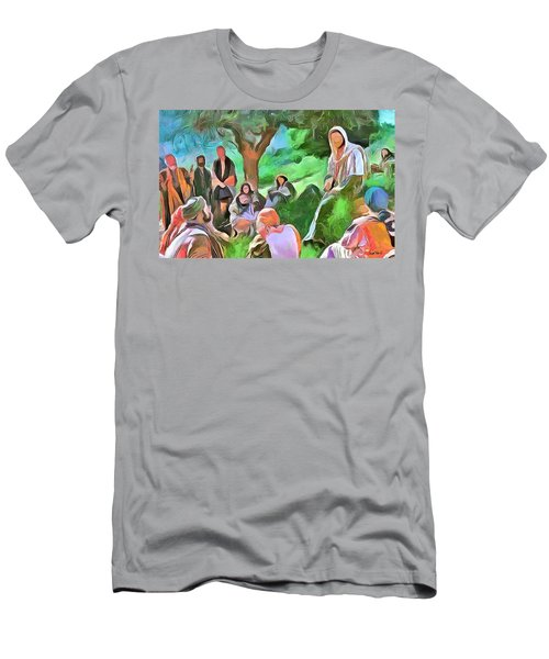 The Master Teacher Men's T-Shirt (Slim Fit) by Wayne Pascall