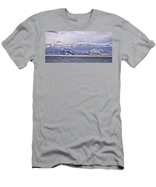 The Mediterranean Coast Men's T-Shirt (Athletic Fit)